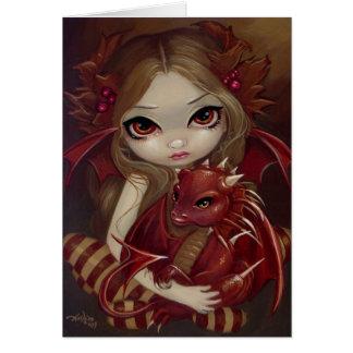 """Sienna Dragonling"" Greeting Card"