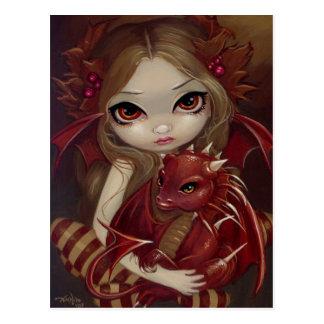 """Sienna Dragonling"" Postcard"