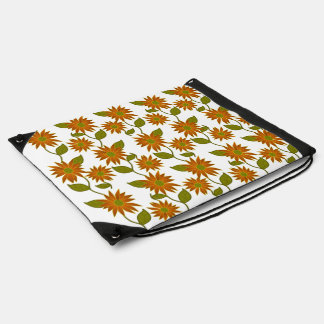 Sienna Floral Drawstring Backpack