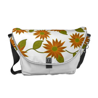 Sienna Floral Courier Bag