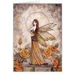 Sienna Rose Fairy Card by Molly Harrison
