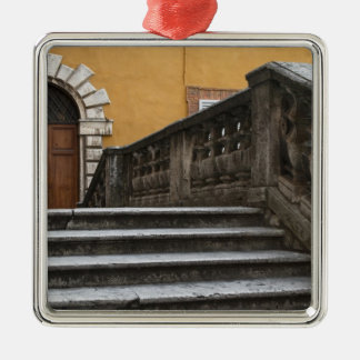 Sienna, Tuscany, Italy - Low angle view of Silver-Colored Square Decoration