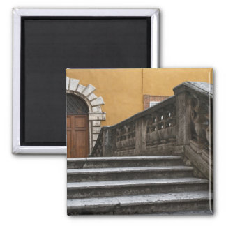 Sienna, Tuscany, Italy - Low angle view of Square Magnet