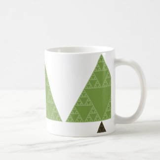 Sierpinski Triangle Tree Coffee Mug