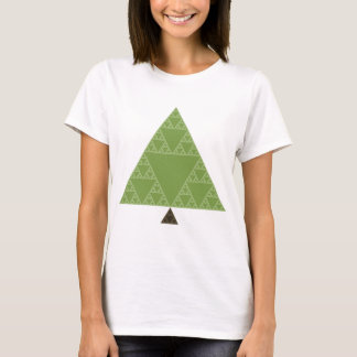 Sierpinski Triangle Tree T-Shirt