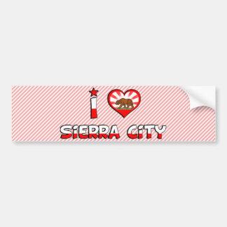 Sierra City, CA Car Bumper Sticker