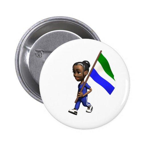 Sierra Leone Button
