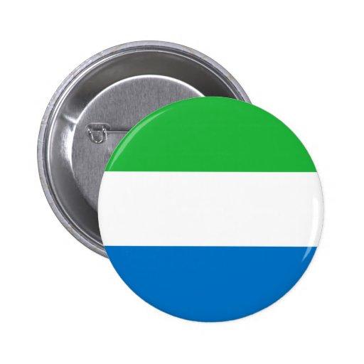 Sierra Leone Flag Button