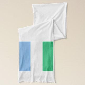 Sierra Leone Flag Lightweight Scarf