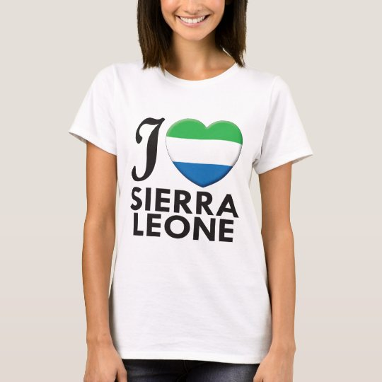 Sierra Leone Love T-Shirt