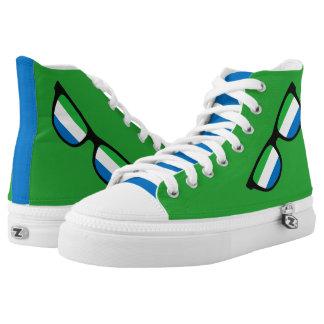 Sierra Leone Shades custom sneakers