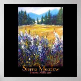 Sierra Meadow Poster