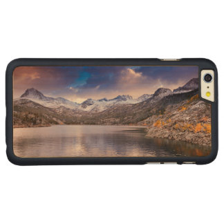 Sierra Nevada Mountains, Autumn, CA Carved Maple iPhone 6 Plus Case