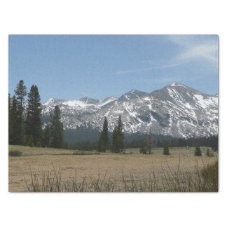 Sierra Nevada Mountains I from Yosemite Tissue Paper