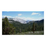 Sierra Nevada Mountains II from Yosemite Poster