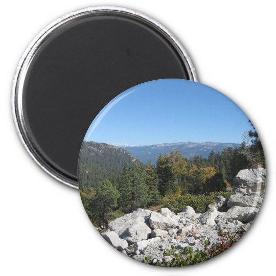 Sierra Nevada Mountains Magnet