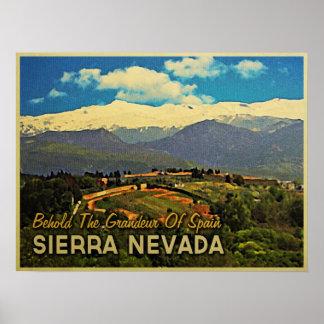 Sierra Nevada Spain Poster