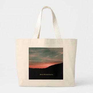 Sierra Nevada Sunrise Large Tote Bag