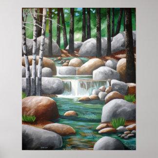 Sierra Stream Poster