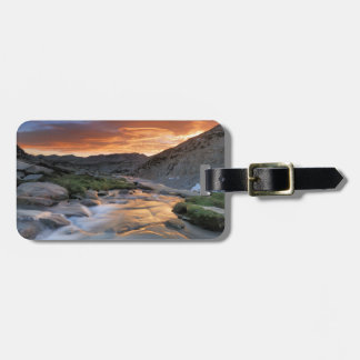 Sierra Wave over Yosemite Luggage Tag