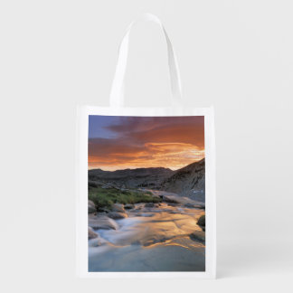 Sierra Wave over Yosemite Reusable Grocery Bag