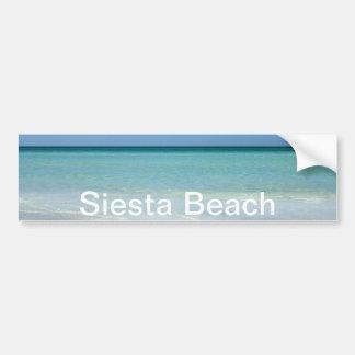 Siesta Beach Gulf Coast Car Bumper Sticker