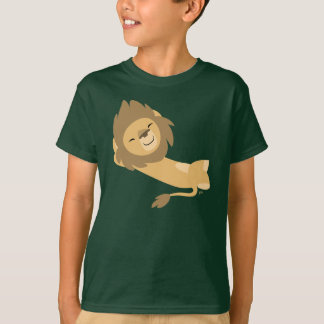 Siesta! Cute Cartoon Lion Children T-Shirt