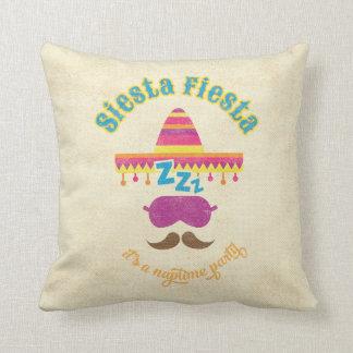 Siesta Fiesta Naptime Party Pillow