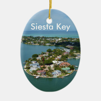 Siesta Key, Florida Christmas Ornament
