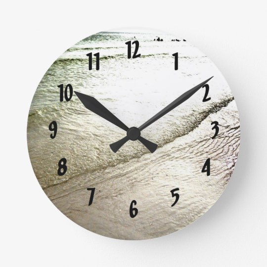 Siesta Keys Meditation Wall Clock