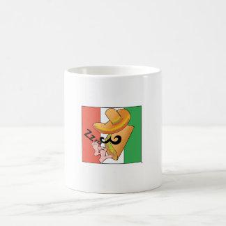 Siesta of the taco coffee mug
