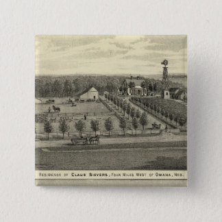 Sievers and Eicke, Nebraska 15 Cm Square Badge