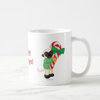 Sifaka Lemur Coffee Mug