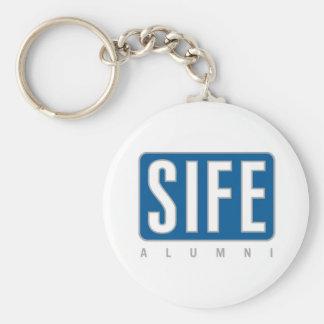 SIFE Alumni Basic Round Button Key Ring
