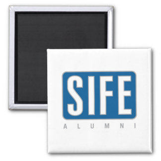SIFE Alumni Square Magnet