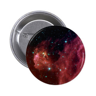 sig07-006 Red dust sky cloud 6 Cm Round Badge