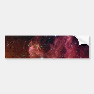 sig07-006 Red dust sky cloud Bumper Sticker