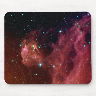 sig07-006 Red dust sky cloud Mouse Pad