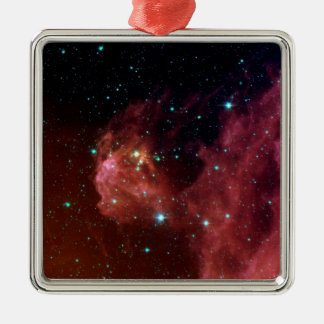 Sig07-006 Red dust sky cloud NASA Christmas Ornament