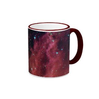 sig07-006 Red dust sky cloud Ringer Mug
