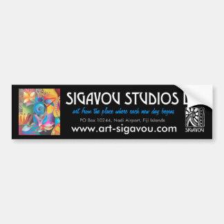 SIGAVOU STUDIOS BUMPER STICKER