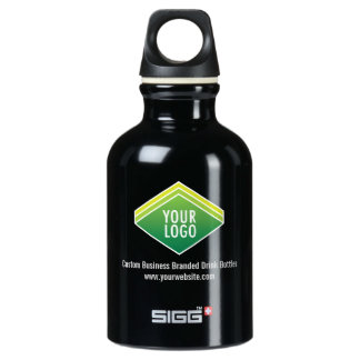 SIGG Black Travel Water Bottle .3L with Your Logo SIGG Traveller 0.3L Water Bottle