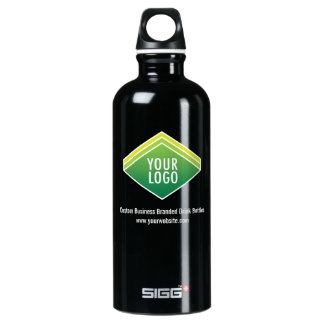 SIGG Black Water Bottle .6L Custom Logo Branded SIGG Traveller 0.6L Water Bottle