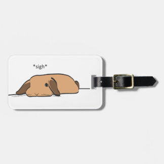 SIGHING LOP LUGGAGE TAG