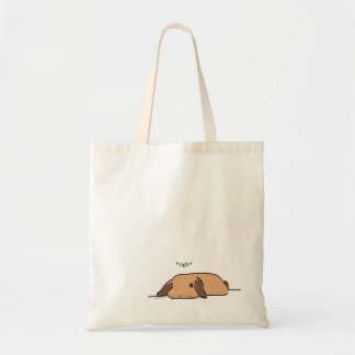 SIGHING LOP TOTE BAG