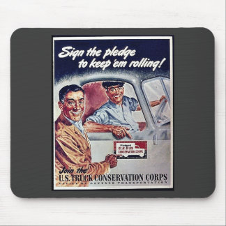Sighn The Pledge To Keep Em Rolling S Mouse Pad