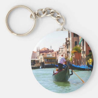 Sightseeing By Gondola Venice Italy Key Ring