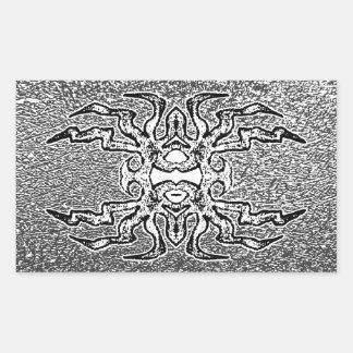 Sigil (grey) rectangle stickers