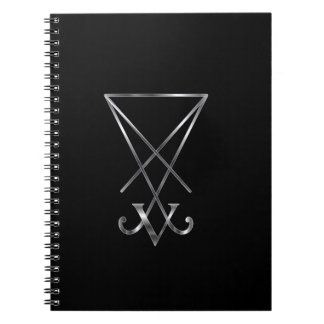 Sigil of Lucifer- A symbol of satanism Notebooks