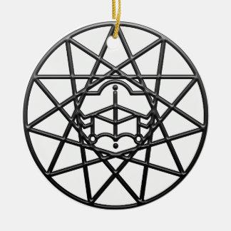 Sigilum Lothian Round Ceramic Decoration